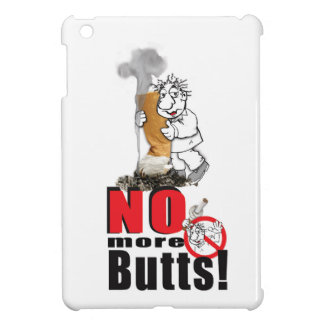 NO BUTTS - Stop Smoking iPad Mini Cover