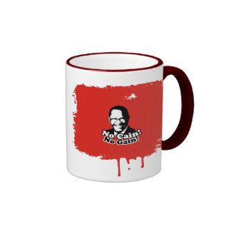 No Cain No Gain Ringer Mug