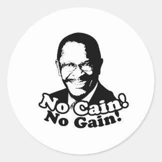No Cain No Gain Sticker