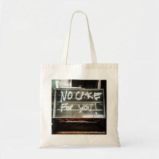No Cake for You!  Abandoned Olga's Nj Diner Tote Bag