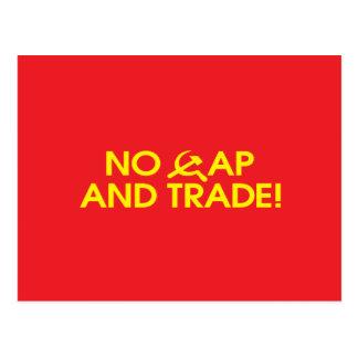 No Cap And Trade! Post Cards