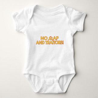 No Cap And Traitors! Baby Bodysuit