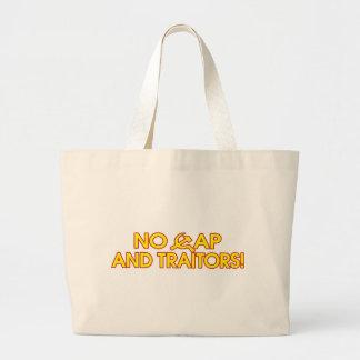 No Cap And Traitors! Tote Bags