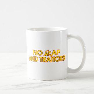 No Cap And Traitors! Basic White Mug