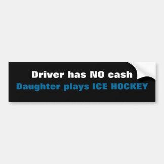 No Cash.... Bumper Sticker