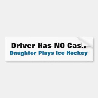 NO CASH ... Bumper Sticker
