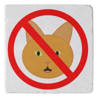 No Cat Here Trivet
