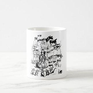 No Cats Allowed Coffee Mug