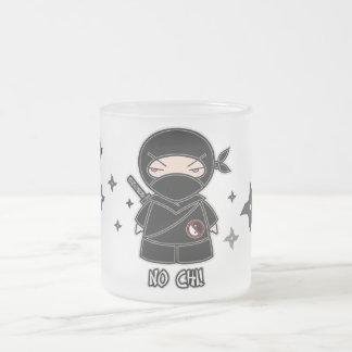 No Chi Ninja With Shurikens Mug