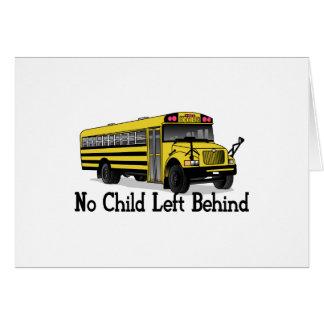 No Child Greeting Card