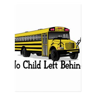 No Child Postcard