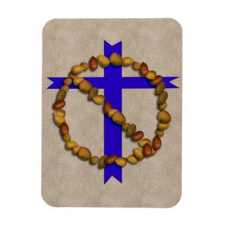 No Christian Nuts Rectangular Photo Magnet
