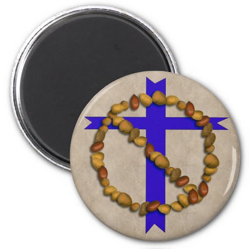 No Christian Nuts Magnet