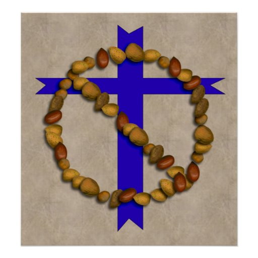 No Christian Nuts Poster