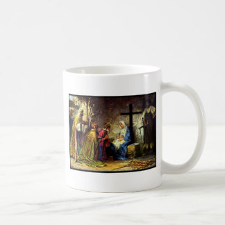 No Christmas Without The Cross Coffee Mugs