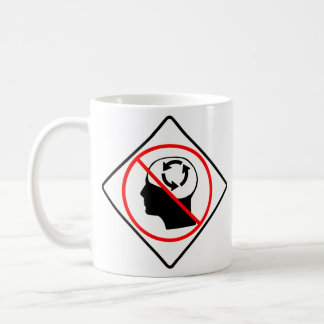 No Circular Reasoning mug