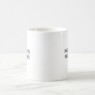 NO COFFEE NO CASES! COFFEE MUG