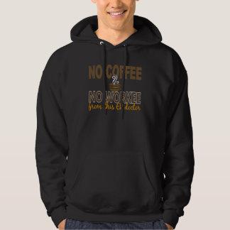 No Coffee No Workee ER Doctor Hoodie