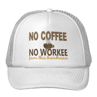 No Coffee No Workee Hairdresser Mesh Hat