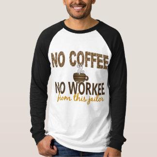 No Coffee No Workee Jailer Shirt