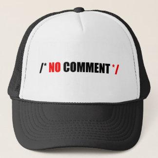 No Comment Mercahndise Trucker Hat