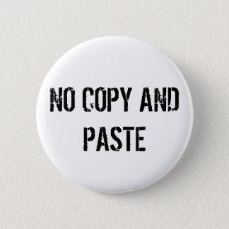 NO COPY PASTE BUTTON