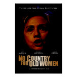 No Country For Old Women (Director's Cut) Poster