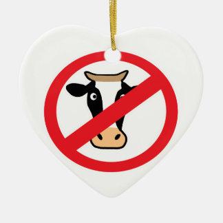 No Cows Christmas Ornament