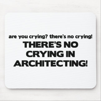 No Crying in Architecting Mouse Mat