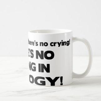 No Crying in Geology Coffee Mug