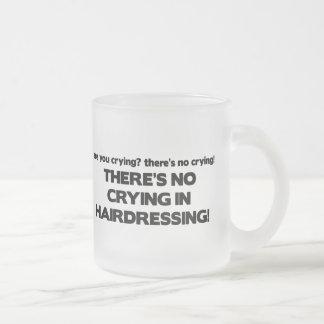 No Crying in Hairdressing Mug