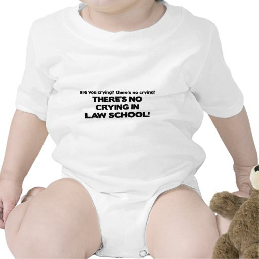 No Crying in Law School T-shirts