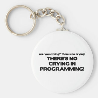 No Crying in Programming Keychains