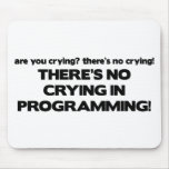 No Crying in Programming Mouse Mats