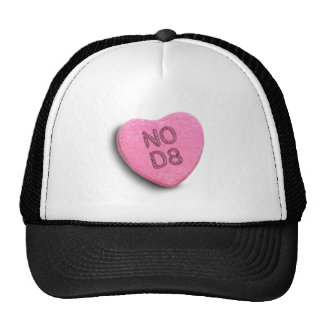 NO D8 CANDY -.png Trucker Hat