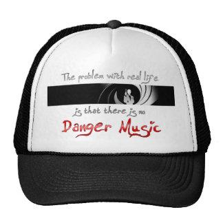 No Danger Music Mesh Hats