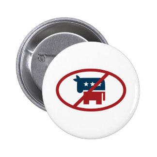 No democrates buttons