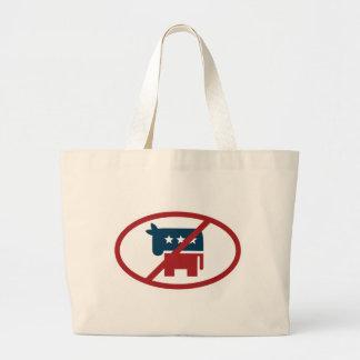 No democrates tote bag