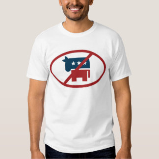 No democrates shirts