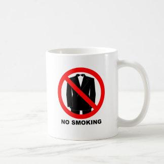 no diner jacket basic white mug