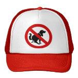 NO Dog Fouling ⚠ Thai Sign ⚠ Hats
