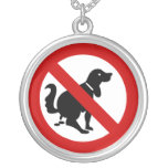 NO Dog Fouling ⚠ Thai Sign ⚠ Personalised Necklace