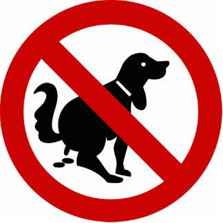 NO Dog Fouling ⚠ Thai Sign ⚠ Photo Cutouts
