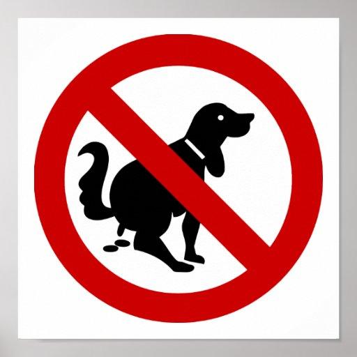 NO Dog Fouling ⚠ Thai Sign ⚠ Poster