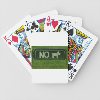 No dogs deck of cards