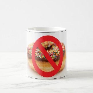 No Doughnuts Mug