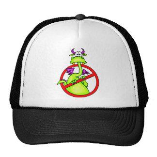 No Dragons Allowed Symbol Mesh Hat