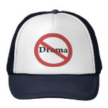 No Drama Allowed! Mesh Hats
