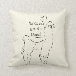 No Drama for this Llama Cushion