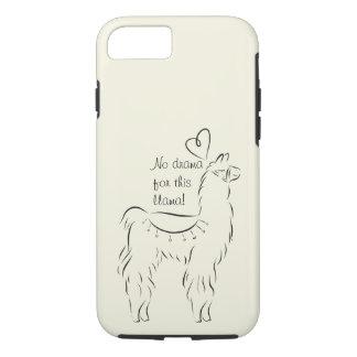 No drama for this llama iPhone 8/7 case